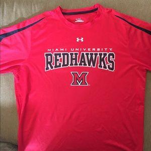 Miami Redhawks performance T-shirt size XXL